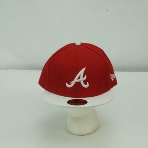 MENS NEW ERA 59 FIFTY MLB ATLANTA BRAVES HAT